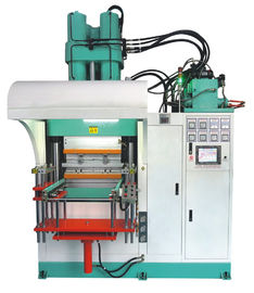Mechanical Vertical Rubber Injection Molding Machine With High Torque Hydraulic Motors
